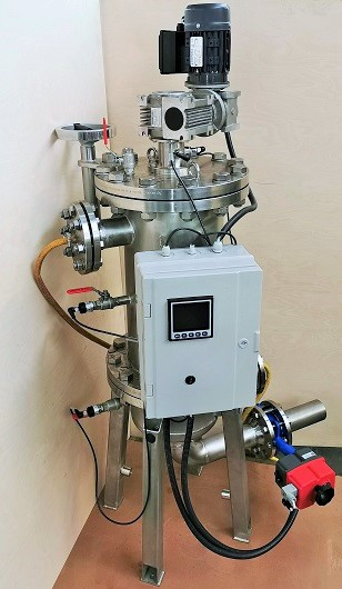 WFZD Self-cleaning filter backwash